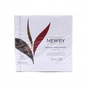 Чай NEWBY черный Индийский завтрак, 50 пакетиков 100 г