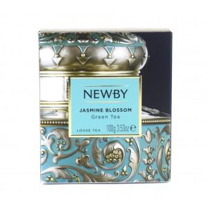 Чай NEWBY зеленый Цветок жасмина 100 г