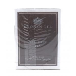 Чай KRONEN черный Эрл грей, 15 пакетиков 30 г