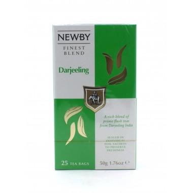Чай NEWBY черный Дарджилинг, 25 пакетиков 50 г