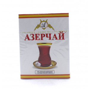 Чай АЗЕРЧАЙ черный байховый c ароматом бергамота 100 г
