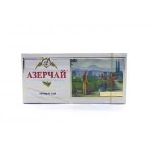 Чай АЗЕРЧАЙ черный с чабрецом, 25 пакетиков 50 г