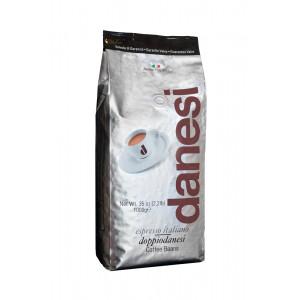 Кофе Danesi Doppio в зернах, 1000г