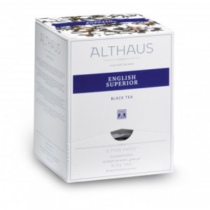 ALTHAUS Чай черный Инглиш Супериор пирамидки 15х2,75 гр