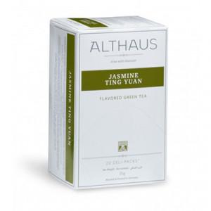 ALTHAUS Чай зеленый Жасмин Тинг Юань  20х1,75 гр.