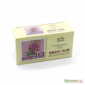 Иван-чай Да Мята фильтр-пакеты Житница здоровья 20х1,5 г