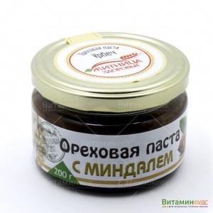 Ореховая паста с кэробом и миндалем Житница здоровья 200 г