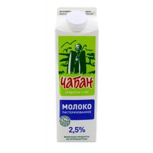 """Молоко """"ЧАБАН"""" 25% 0,9л."""