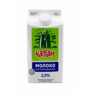 """Молоко """"ЧАБАН"""" 2,5% 1,5л."""