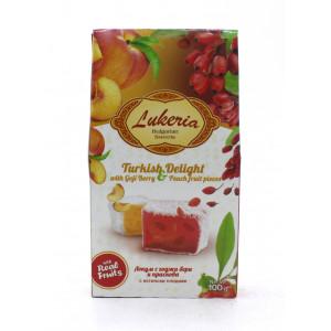 "Рахат-лукум ""Lukeria"" со вкусом годжи и персика 100 г"