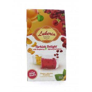 """Рахат-лукум """"Lukeria"""" с малиной и абрикосом 100 г"""