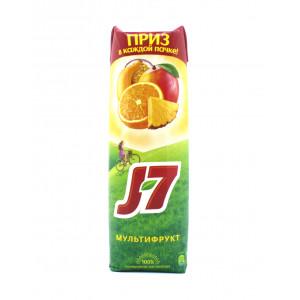 Сок J-7 Мультифрукт 0,97 л