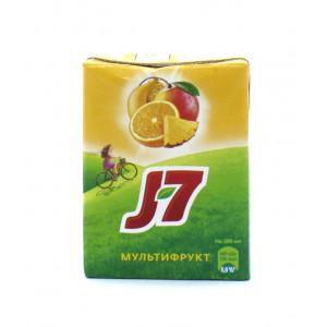 Сок J-7 Мультифрукт 0,2 л