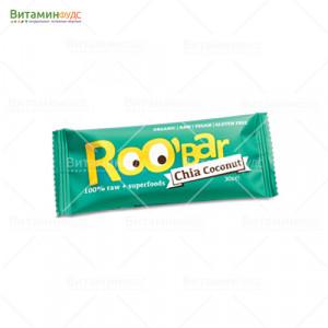Roobar c Семенами Чиа и Кокосом 30г