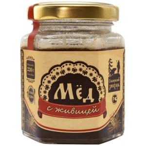 Мёд натуральный с Живицей Кедра, 200 мл