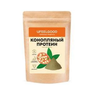 Конопляный протеин UFEELGOOD, 200 г.